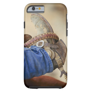 Cowboy boot with spur 2 tough iPhone 6 case