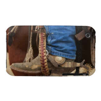Cowboy boot with spur iPhone 3 Case-Mate case