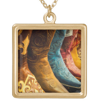 Cowboy boots for sale, Arizona Gold Plated Necklace