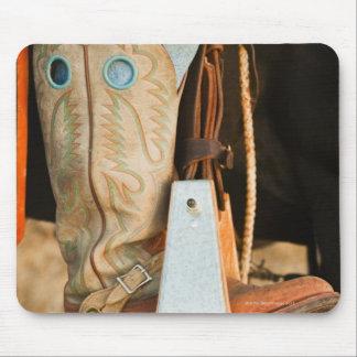Cowboy boots mouse mat