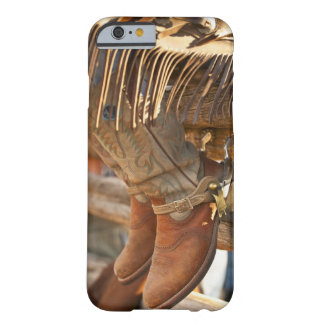 Cowboy boots on fence 2 barely there iPhone 6 case