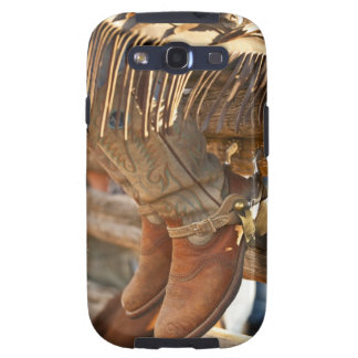 Cowboy boots on fence 2 galaxy s3 case
