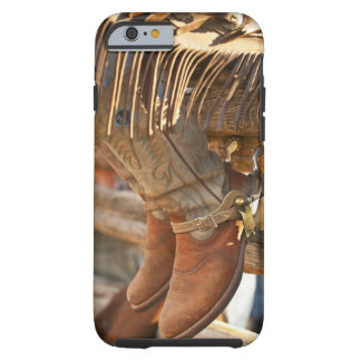 Cowboy boots on fence 2 tough iPhone 6 case