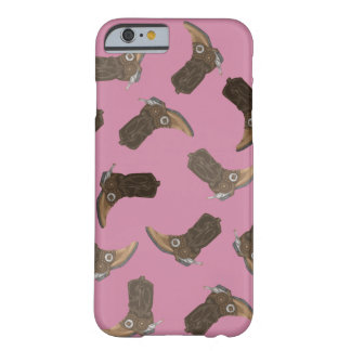 Cowboy Boots Pattern Barely There iPhone 6 Case