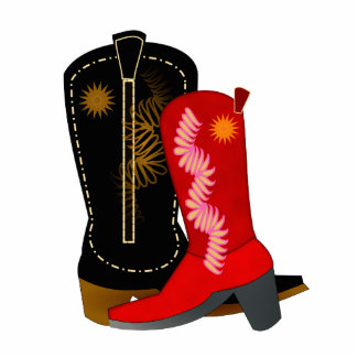 Cowboy Boots Cut Out