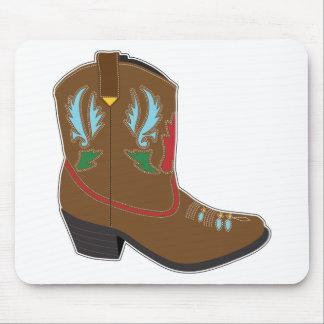 Cowboy Boots Short Mouse Pad