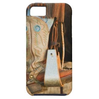 Cowboy boots tough iPhone 5 case