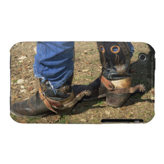 Cowboy boots with spurs iPhone 3 cases