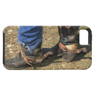 Cowboy boots with spurs iPhone 5 case