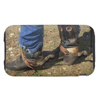 Cowboy boots with spurs tough iPhone 3 cover
