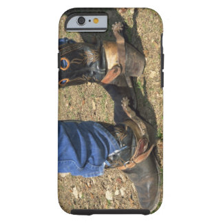 Cowboy boots with spurs tough iPhone 6 case
