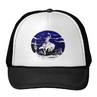 Cowboy Bronc Desert Cap