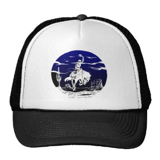Cowboy Bronc Desert Mesh Hats