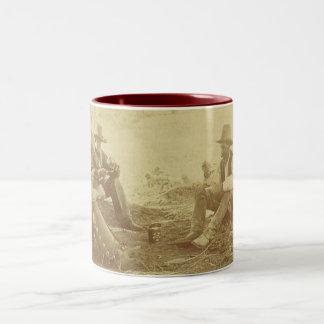 Cowboy coffee Two-Tone mug