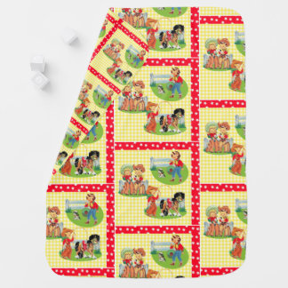 Cowboy Cowgirl Kids Western Baby Gift Baby Blanket