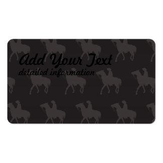 Cowboy Dark Business Card Template