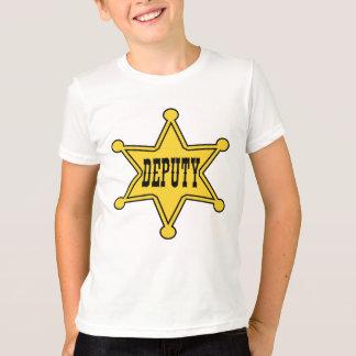 Cowboy Deputy Badge Tee
