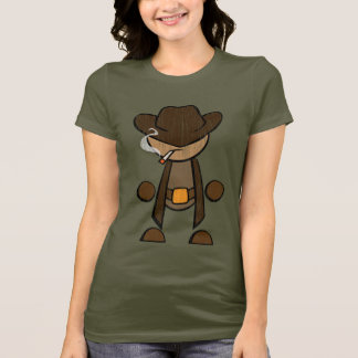 Cowboy - Distressed T-Shirt