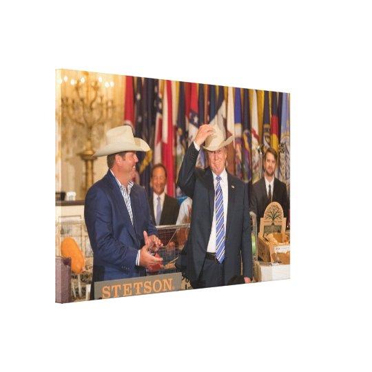 Cowboy Don Canvas Print