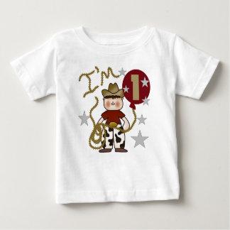 Cowboy First Birthday Tshirts