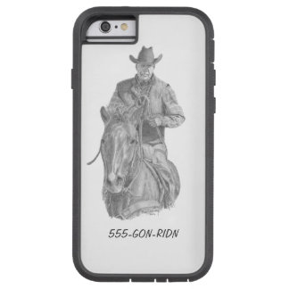 Cowboy GON-RIDN Phone Cover Tough Xtreme iPhone 6 Case