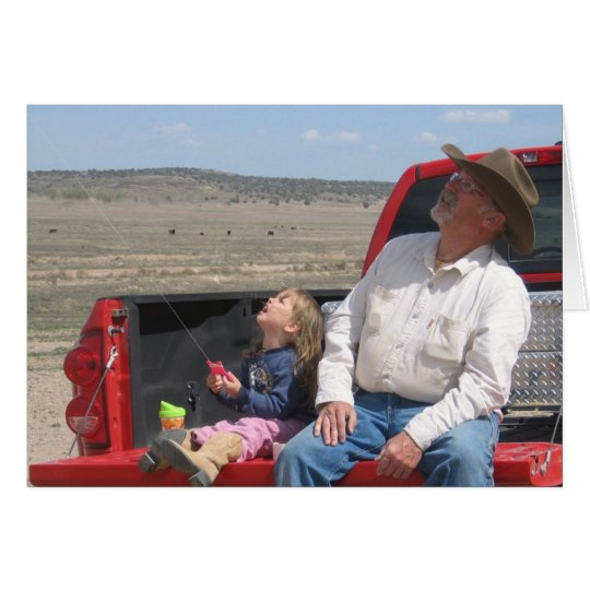 Cowboy Grandpa Birthday - Western Card