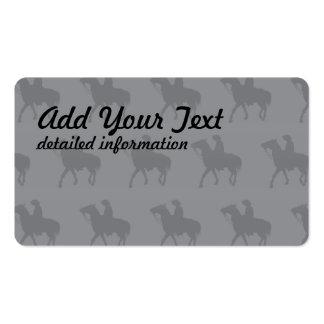Cowboy Greys Business Card Template