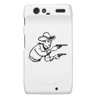 Cowboy Gunfight Droid RAZR Case