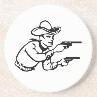 Cowboy Gunfight Coasters