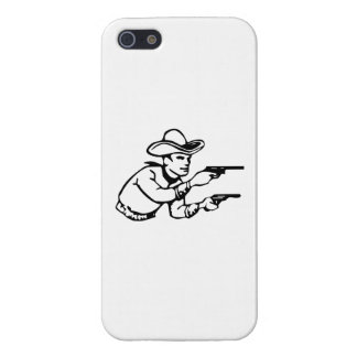 Cowboy Gunfight iPhone 5 Cases