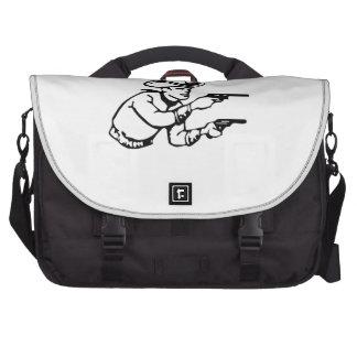 Cowboy Gunfight Commuter Bag