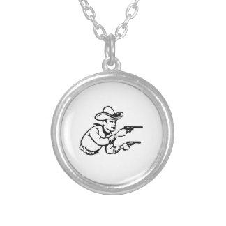 Cowboy Gunfight Necklaces