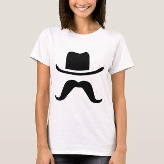 Cowboy Hat and Mustache T-Shirt
