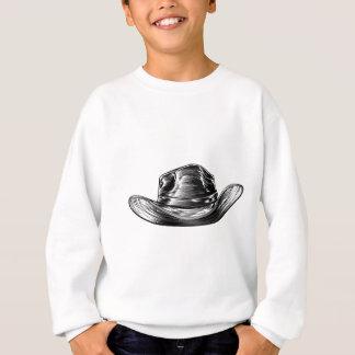 Cowboy Hat Drawing Sweatshirt