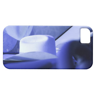 Cowboy Hat in Dashboard of Truck iPhone 5 Covers