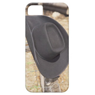 Cowboy hat on fence iPhone 5 cases