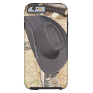 Cowboy hat on fence tough iPhone 6 case
