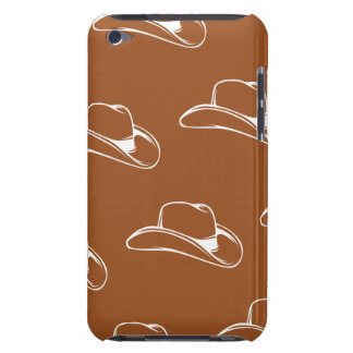 Cowboy Hat White Oranges iPod Touch Cases
