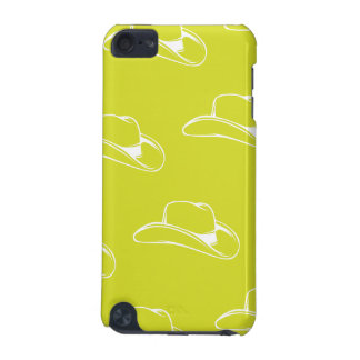 Cowboy Hat White Yellow iPod Touch (5th Generation) Covers