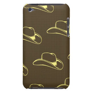 Cowboy Hat Yellow Brown iPod Touch Case-Mate Case