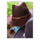 Cowboy Hats Card