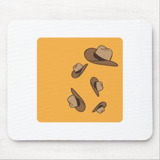 Cowboy Hats Mouse Pads