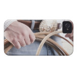 Cowboy holding a rope Case-Mate iPhone 4 case