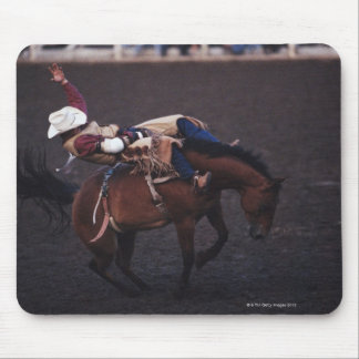 Cowboy in a Rodeo 2 Mouse Pads