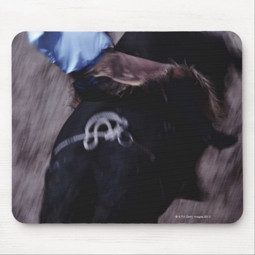 Cowboy in a Rodeo 3 Mousepads