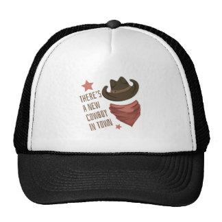 Cowboy In Town Trucker Hat