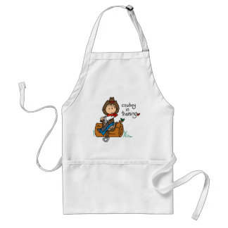 Cowboy in Training Tshirts and Gifts Standard Apron