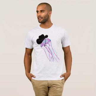 Cowboy Jellyfish Art T-Shirt