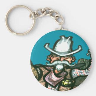 Cowboy Key Chain