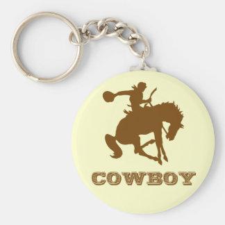 Cowboy Key Ring